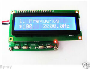 Three phase Sine Signal Generator 0 To 360 Frequency Meter Counter 1 00 200khz