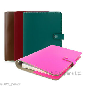 Filofax The Original A5 Size Leather Organiser All Colours Available