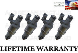 4x Genuine Siemens Fuel Injectors For Saturn Vue Ion L300 Chevy Malibu 2 2l