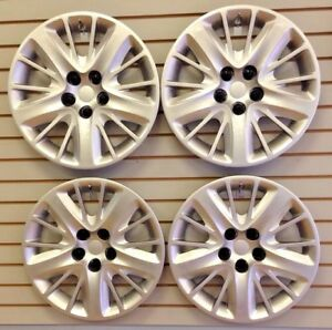 New 2014 2017 Chevrolet Impala 18 Silver Wheelcover Hubcap Set Of 4 Covers