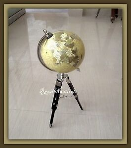 Vintage Very Rare The World Globe Political Desk Globe On A Stand Height 20