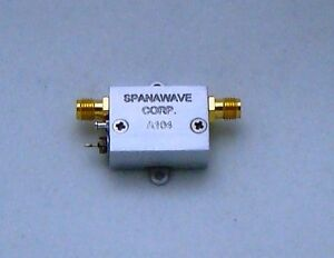 New Spanawave Wideband Rf Amplifier 100 4000 Mhz Swa 01040