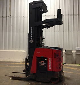 Raymond Electric Reach Truck 4 500 Lb Capacity 740r45tt 5 In Stock
