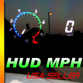 Add Mph Speed Gauge Cluster Digital Gauge Cluster Hud Speed Meter White Green