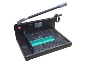 Free Cutting Stick New Sg 198 12 Quality Guillotine Stack Paper Cutter Trimmer