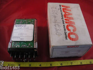 Namco Ee891 12103 Ser A Motion Switch Relay 120v Ac 1 Form C 5a 24 480 Rpm New