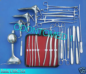 9 Custom Made Surgical Instruments Set