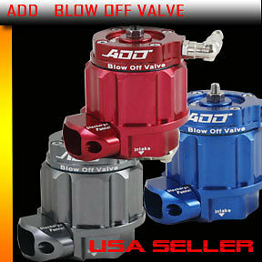 Add W1 Turbo Blow Off Valve Bov Boost Kit Turbocharger Supercharger Color Blue