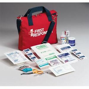 120 piece First Responder First Aid Kit By First Aid Only 510frf