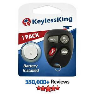 New Replacement Keyless Entry Remote Car Key Fob Transmitter For 25678792