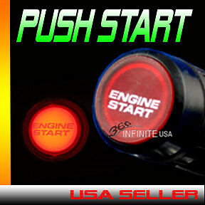 12v Universal Car Engine Push Start Button Ignition Engine Ignition Starter