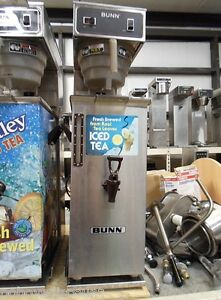 Bunn Tu30 3 Gallon Ice Tea Maker Machine Brewer Td4t 4 Gallon Dispenser Urn