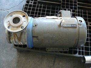 Goulds Pumps Model Sst Size 2x21 2x6 Centrifugal Pump 6stk2 Stainless Steel