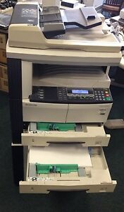 Kyocera Km 2550 Copier Printer Network Very Low Meter Reading
