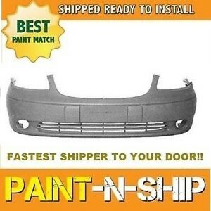 Fits 2001 2002 2003 2004 Chevy Malibu front Bumper Painted To Match gm1000540