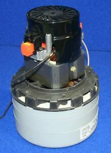 Nobles Tennant 130417 Vacuum Motor 120 Volt 3 Stage For Typhoon Wet dry Vacuum