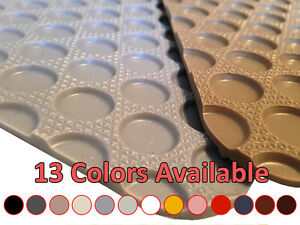 1st Row Rubber Floor Mat For Volvo 1800e R9183 13 Colors