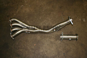 Plm Tri y Race Header Honda Civic 06 11 Si Fg Fa