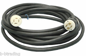 Emergen 20 Amp 40 Ft L14 20 20a 3p 4w 125 250 Generator Power Cord 5000 Watts