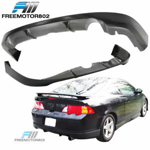 For 02 03 04 Acura Rsx A Spec Rear Bumper Lip Spoiler Bodykit Pu Urethane
