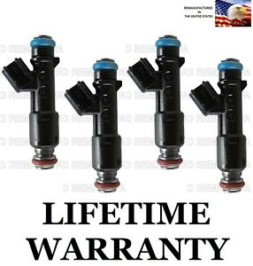 Genuine Delphi Set Of 4 Fuel Injectors For Chevy Cobalt Pontiac G5 05 10 2 2l
