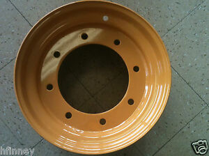 Case 580b 580c 580d 580se 580k 580sk Backhoe 4x4 4wd Front Rim Wheel New D126930