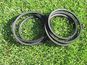 2 Replacement Belts For Servis Rhino Fm84 7 Mowers Alamo 00774519 774519