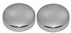 Pair 2003 2017 Dodge Ram 3500 Dually 1 ton Truck Front 17 Wheel Center Hub Caps