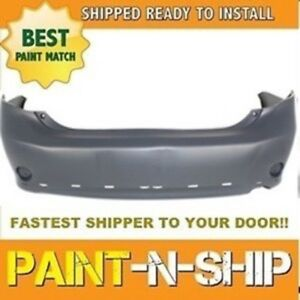 Fits 2009 2010 Toyota Corolla S Rear Bumper Painted To Match to1100265