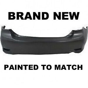Fits 2011 2012 2013 Toyota Corolla S Rear Bumper Painted To1100288
