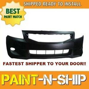 Fits 2008 2009 2010 Honda Accord Coupe Front Bumper Painted Ho1000256
