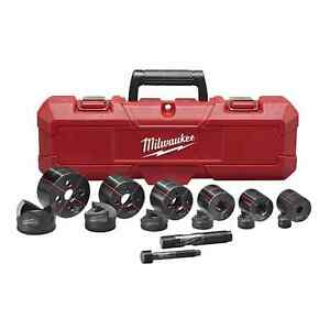 Milwaukee 49 16 2693 Milwaukee Exact 1 2 In To 2 In Knockout Set In Stock