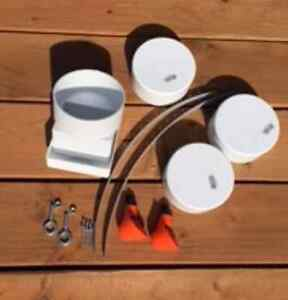 Diy All in one Feeder Water System Kit Easy Chicken Tubes Poultry Feed Any Size