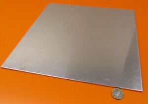 6061 T6 Aluminum Sheet 125 1 8 Thick X 12 0 Wide X 12 0 Length 1 Pieces