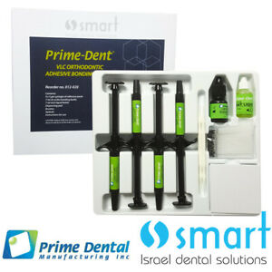 Dental Light Cure Orthodontic Adhesive Bonding System Prime dent