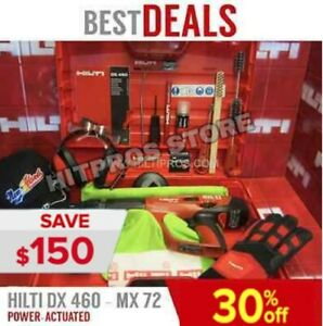 Hilti Dx 460 Power Actuated Excellent Condition Free Extras Fast Ship