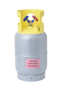 Refrigerant Recovery Reclaim Cylinder Tank 30lb Pound 400 Psi New