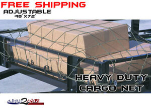 Truck Pickup Cargo Net Trailer Bed Suv Muv Honda Big Red Can Am Commander Mule