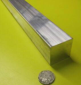 6061 T651 Aluminum Square Bar 1 3 8 1 375 Thick X 1 3 8 Wide X 36 Length