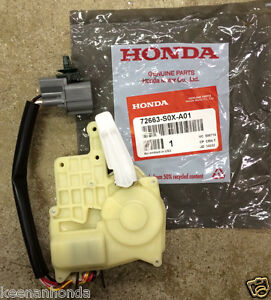 Genuine Oem Honda Odyssey Driver Rear Sliding Door Lock Actuator 2001 2004 Lx