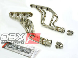 Obx Long Tube Header Ford 1982 To 1996 Bronco 1980 To 1996 Ford 5 8l Cid 351
