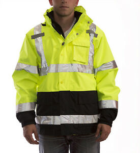 Tingley Icon 3 1 Premium 3 in 1 Insulated Jacket Ansi isea Class 3 j24172