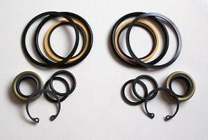 Seal Kit Pair For Case Steering Cylinders Fits 530ck 580ck 580b To S n 8741258