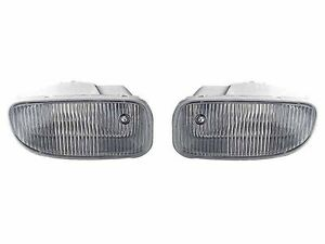 Depo 99 01 Jeep Grand Cherokee Replacement Fog Light Lamp Set Left Right New