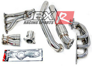 Obx Exhaust Header For 1997 2003 Pontiac Grand Prix Gtp 3 8l Super Charged