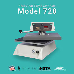 Insta Heat Press Machine Model 728 automatic free Shipping