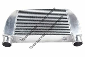 Cxracing Universal V mount Turbo Intercooler 25 x12 x4 1 side Bar