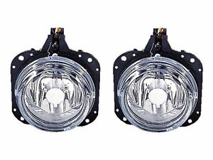 Depo 2002 2005 Mitsubishi Eclipse Replacement Fog Light Set Left Right