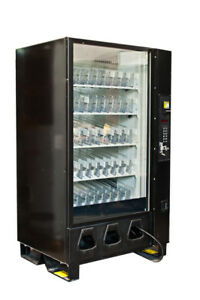 Dixie Narco 5591 Glass Front Bottle Drop Vending Machine For Sodas And Beverages