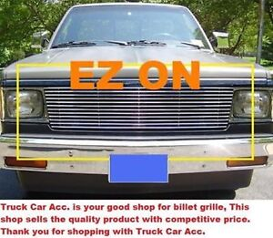 For Chevy S10 Blazer Gmc S15 Jimmy 1982 1990 1pc Polished Replacement Grille